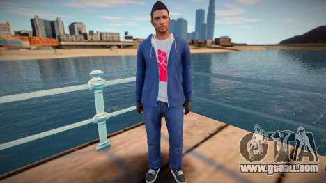 Dude from GTA Online for GTA San Andreas
