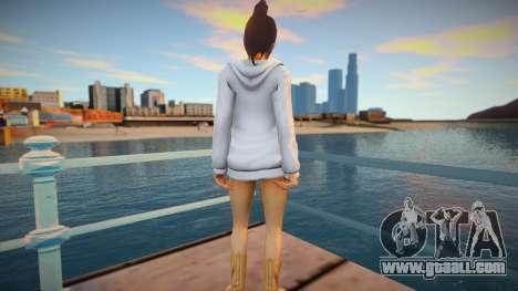 Haruka Sawamura - Yakuza 5 v3 for GTA San Andreas