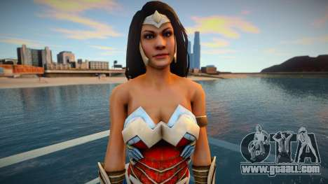 Wonder Woman (good skin) for GTA San Andreas