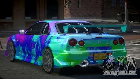 Nissan Skyline R34 PSI-S S1 for GTA 4