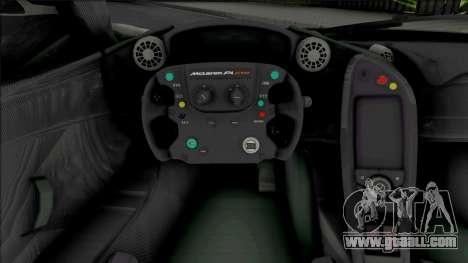 McLaren P1 GTR [HQ] for GTA San Andreas