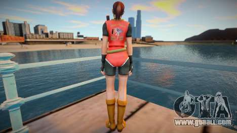 Claire Redfield (good skin) for GTA San Andreas