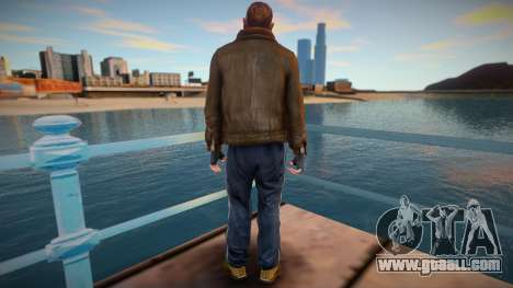 Niko Bellic - GTA IV for GTA San Andreas