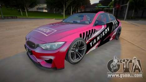 BMW M4 F82 (good model) for GTA San Andreas