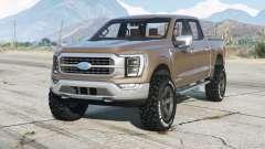 Ford F-150 XLT SuperCrew 2021 for GTA 5