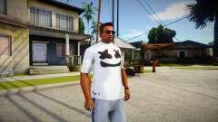 New T-Shirt - tshirtheatwht for GTA San Andreas