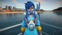 Tracer (Graffity) from Overwatch for GTA San Andreas