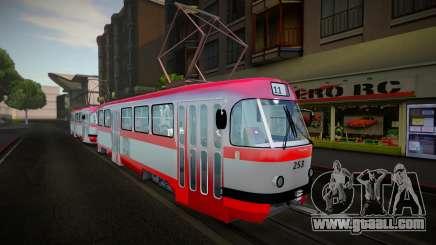 Tatra T4D RATC Iasi for GTA San Andreas