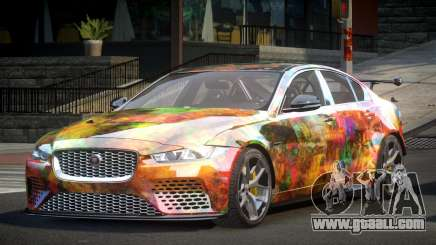 Jaguar XE GST S2 for GTA 4