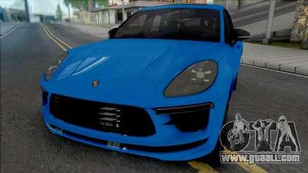 Porsche Macan Turbo Blue for GTA San Andreas