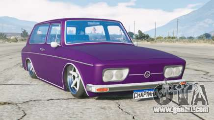 Volkswagen 1600 Variant 1973〡lowered〡add-on for GTA 5