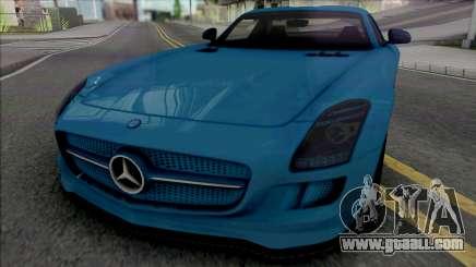 Mercedes-Benz SLS AMG Electric Drive 2013 for GTA San Andreas