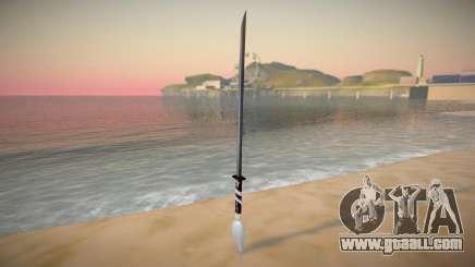 Katana Form TGTA for GTA San Andreas