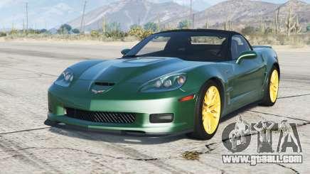 Chevrolet Corvette ZR1 (C6) 2009〡add-on v3.0 for GTA 5