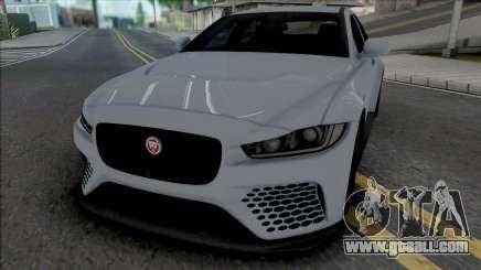 Jaguar XE SV [IVF ADB VehFuncs] for GTA San Andreas