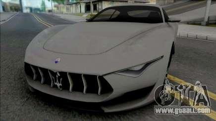 Maserati Alfieri 2014 for GTA San Andreas