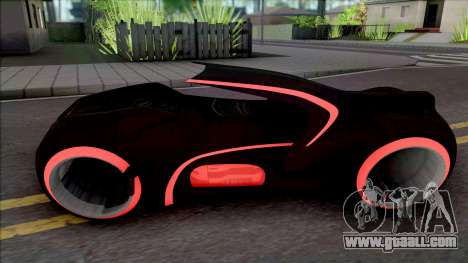 Tron Bike with Light Trail for GTA San Andreas
