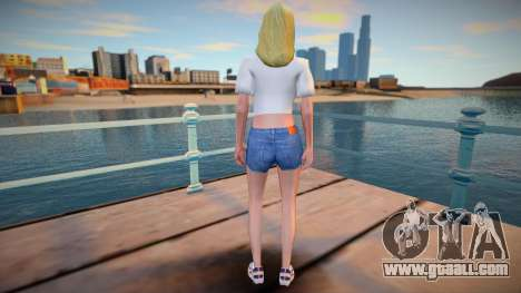 White girl (wfyclot) for GTA San Andreas