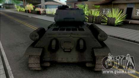 T-34-85 RUDY 102 (Czterej pancerni i pies) for GTA San Andreas