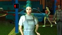 Cute girl Lara for GTA San Andreas