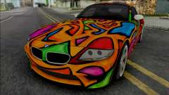 BMW Z4 M Coupe (BMW Design Challenge) for GTA San Andreas