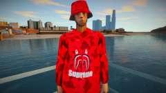 Maccer red Supreme for GTA San Andreas