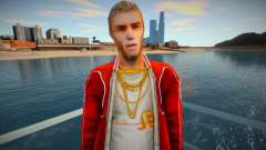 A character in a red jacket from the game Crime Life: Ga for GTA San Andreas