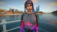 RE2 Remake Claire Redfield COD - The Boss for GTA San Andreas