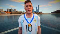 Lionel Messi Argentina T-Shirt - Medal 2021 for GTA San Andreas