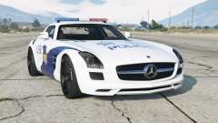 Mercedes-Benz SLS 63 AMG (C197) 2010〡Chinese Police for GTA 5