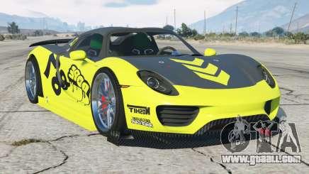 Porsche 918 Spyder Chimera One〡add-on for GTA 5