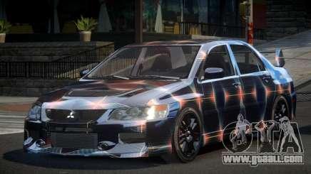 Mitsubishi Evo IX BS-U S7 for GTA 4