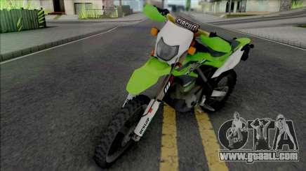 Kawasaki KLX 150BF for GTA San Andreas