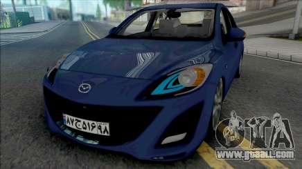 Mazda 3 Sedan 2011 for GTA San Andreas