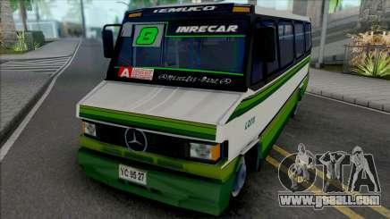 Mercedes-Benz LO 809 Skin L8 Temuco for GTA San Andreas