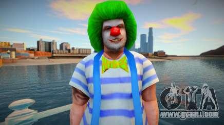 Clown wmoice skin for GTA San Andreas