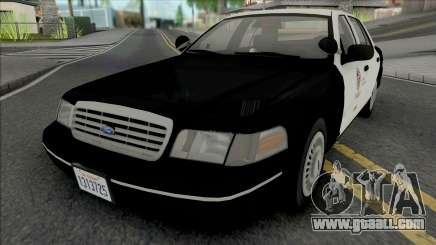 Ford Crown Victoria 1998 CVPI LAPD GND v2 for GTA San Andreas