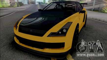Annis Elegy RH8 [SA Plate] for GTA San Andreas