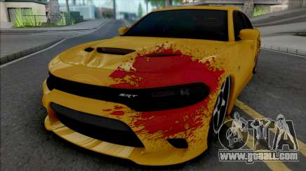Dodge Charger SRT Hellcat 2015 Tuned for GTA San Andreas