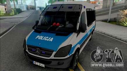 Mercedes-Benz Sprinter Policya OPP KSP for GTA San Andreas