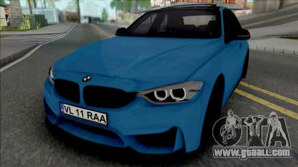 BMW F30 320d (M3 Style Bumpers) for GTA San Andreas