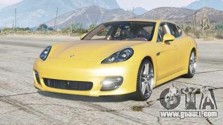 Porsche Panamera Turbo (970) 2009 for GTA 5