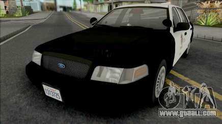 Ford Crown Victoria 2000 CVPI LAPD GND v2 for GTA San Andreas