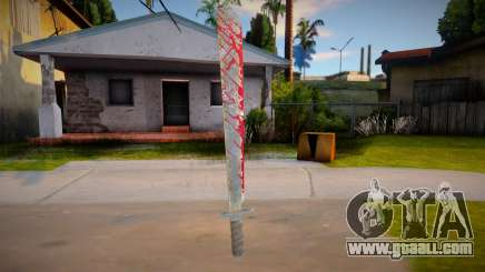 Jason Voorhees - machete for GTA San Andreas