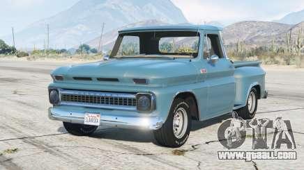 Chevrolet C10 Stepside (C1404) 1966 for GTA 5