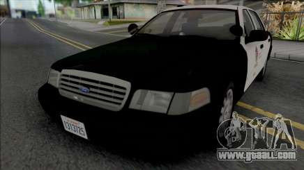 Ford Crown Victoria 2007 CVPI LAPD GND v2 for GTA San Andreas