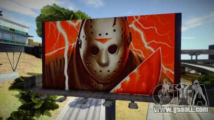 Horror billboards for GTA San Andreas