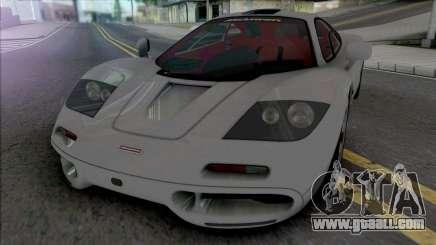 McLaren F1 & F1 LM 1993 for GTA San Andreas