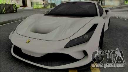 Ferrari F8 Tributo for GTA San Andreas