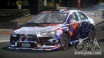 Mitsubishi Evo X SP S5 for GTA 4